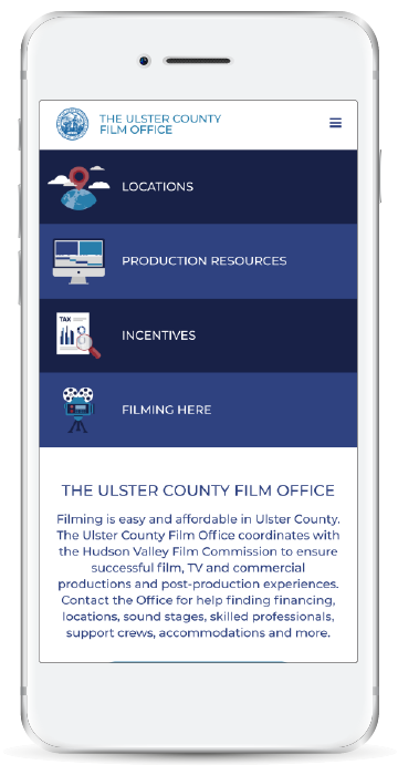 Ulster Film Homepage Mobile