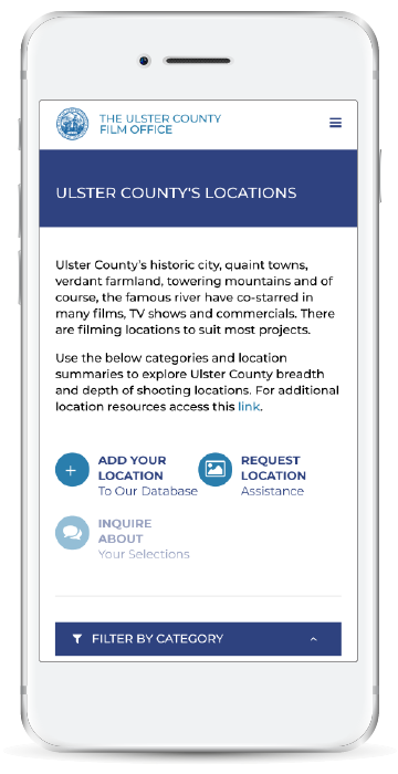 Ulster Film Locations Mobile
