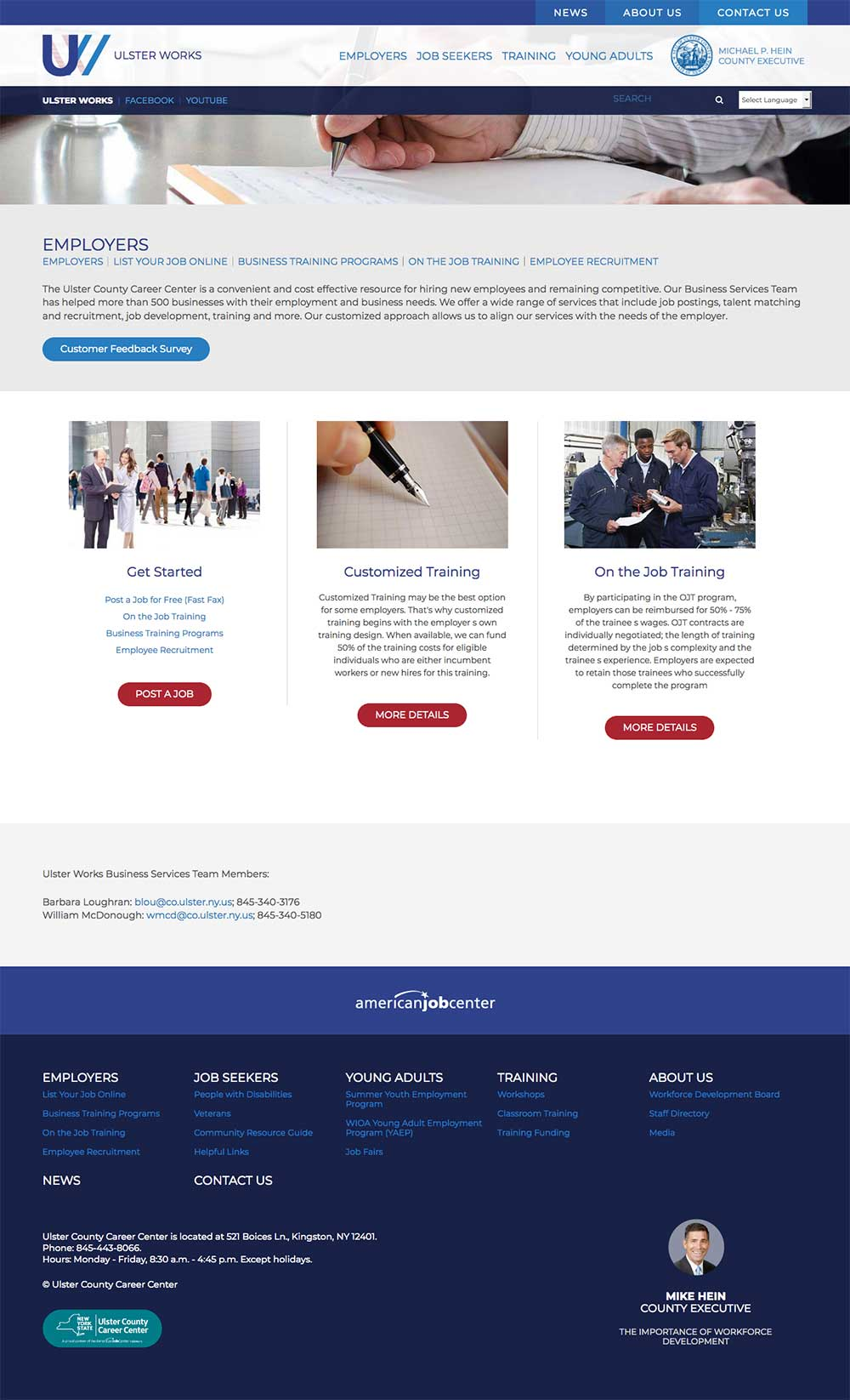 Ulster Works Employer Page